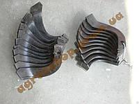 Комплект ножей для фрезы воздушного охлаждения 4-6 л.с  мотоблока PS-Q70/PS-Q74, Zirka SH-41, длина 16см
