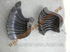 Комплект ножів фрези для повітряного охолодження 4-6 л. з мотоблок PS-Q70/PS-Q74, Zirka SH-41, довжина 16см