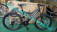 Подростковый горный велосипед 24 дюйма Azimut Blackmount