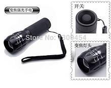 Светодиодный водонепроницаемый алюминиевый LED  фонарик регулируемый, фото 2