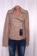 Куртка жіноча з шкірозамінника
