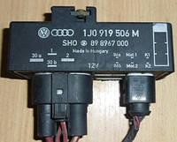 Блок управления вентилятором Skoda Fabia 1J0919506M / 898967000
