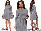 Платье женское ангора с люрексом размеры: 48-50, 52-54, фото 3