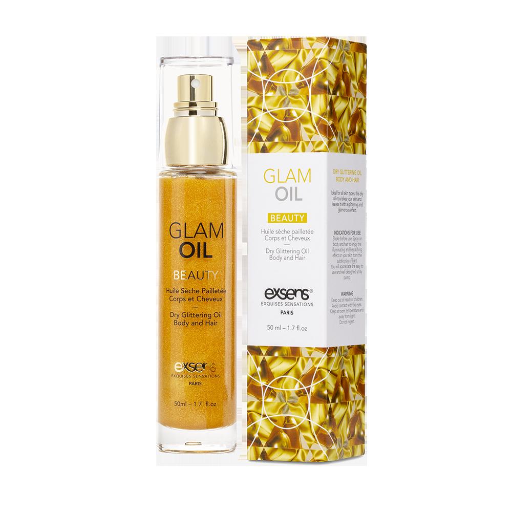Масло для тіла з блиском EXSENS Glamorous Oil, 50мл