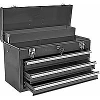 Ящик для инструментов Topex шкаф  металлический 4 ящика, ключ (79R116)