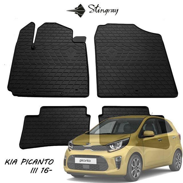 Автомобильные коврики Kia Picanto 2016- Stingray