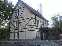 Утепление фасадов домов, коттеджей. Утепление пенопластом и ватой. Фасадные работы