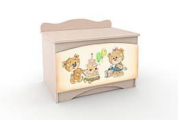 Ящик для игрушек Мишка Хеппи Y-1.32 Вальтер
