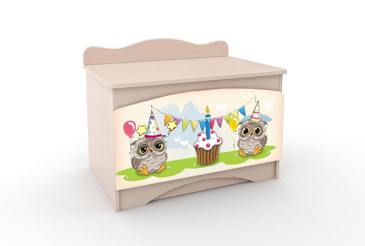 Ящик для игрушек Совы Y-1.64 Вальтер