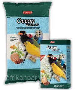Песок для птиц (Padovan) Ocean Fresh Air с ракушками устрицы и анисовыми семечками