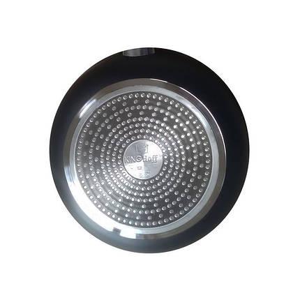 Сковорода Kinghoff 28см лита алюмінієва з мармуровим покриттям KH3943, фото 2