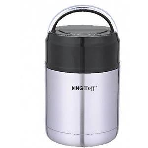 Термос KingHoff пищевой 0,8л KH4375