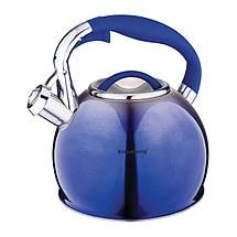 Чайник со свистком 3,0л Klausberg KB7050, фото 3