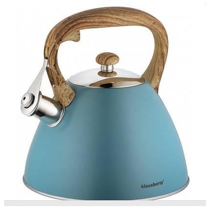 Чайник со свистком 3л Klausberg KB7263, фото 2