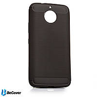 Панель Carbon Series BeCover для Motorola Moto G5s Plus (XT1805) Gray (701818)