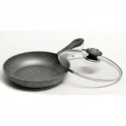 Сковорода 26см литая алюминиевая с керамическим покрытием Vissner VS 7550-26, фото 2