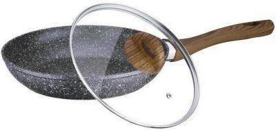 Сковорода 26см литая алюминиевая с антипригарным мраморным покрытием Vissner VS-7533-26, фото 2