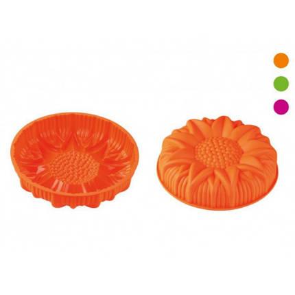 Форма силикон для выпечки 24,8*6,8см Подсолнух Peterhof PH12842, фото 2