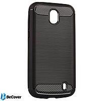 Панель Carbon Series BeCover для Nokia 1 Black (701981)
