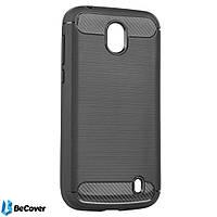 Панель Carbon Series BeCover для Nokia 1 Gray (701983)