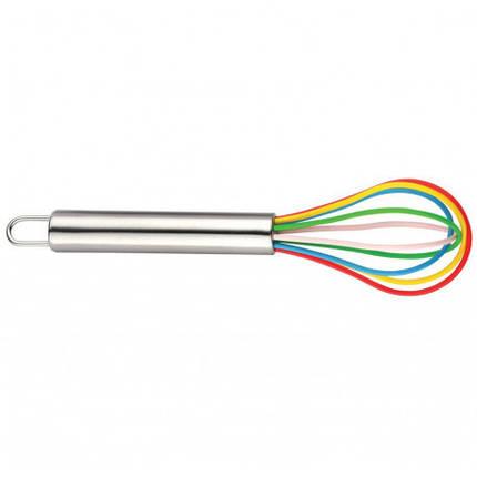 Венчик кухонный 20см нержавеющая сталь/ пищевой силикон KingHoff KH4665, фото 2