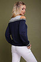 Модная кофта с открытыми плечами 42 44 46, фото 2
