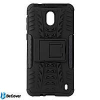 Противоударный чехол-подставка Becover для Nokia 2 Black (702178)