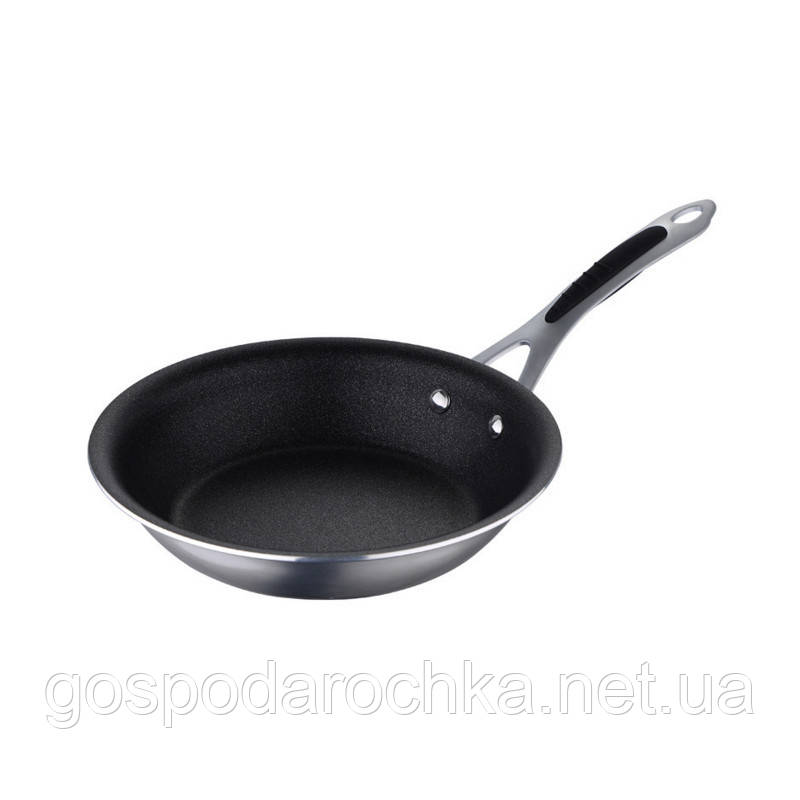 Сковорода 20см литая алюминиевая с тефлоновым антипригарным покрытием Bergner BGMP-7951
