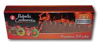 Спички длительного горения Czechowice в картонной выдвижной упаковке 24 шт.
