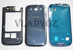 Корпус для Samsung Galaxy s3 i9300 синий + клавиатура AAA