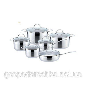 Набор посуды кастрюли 12пр KingHoff KH4452