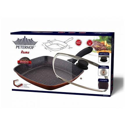 Сковорода гриль Peterhof Rame 28см (PH-25312), фото 2