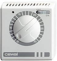 Механический комнатный регулятор температуры Cewal RQ 30