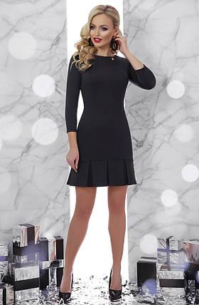 6934b77fbb946c0 Классическое черное платье выше колена 42 44 46 48: продажа, цена в ...