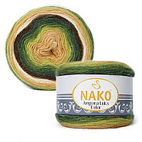 Пряжа Nako Angora Luks Color 81905 (Нако Ангора Люкс Колор)
