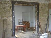 Перепланировка. Демонтаж несущих стен. Усиление стен. Проём в стене.