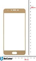 Защитное стекло BeCover для Meizu M3x Gold (701222)