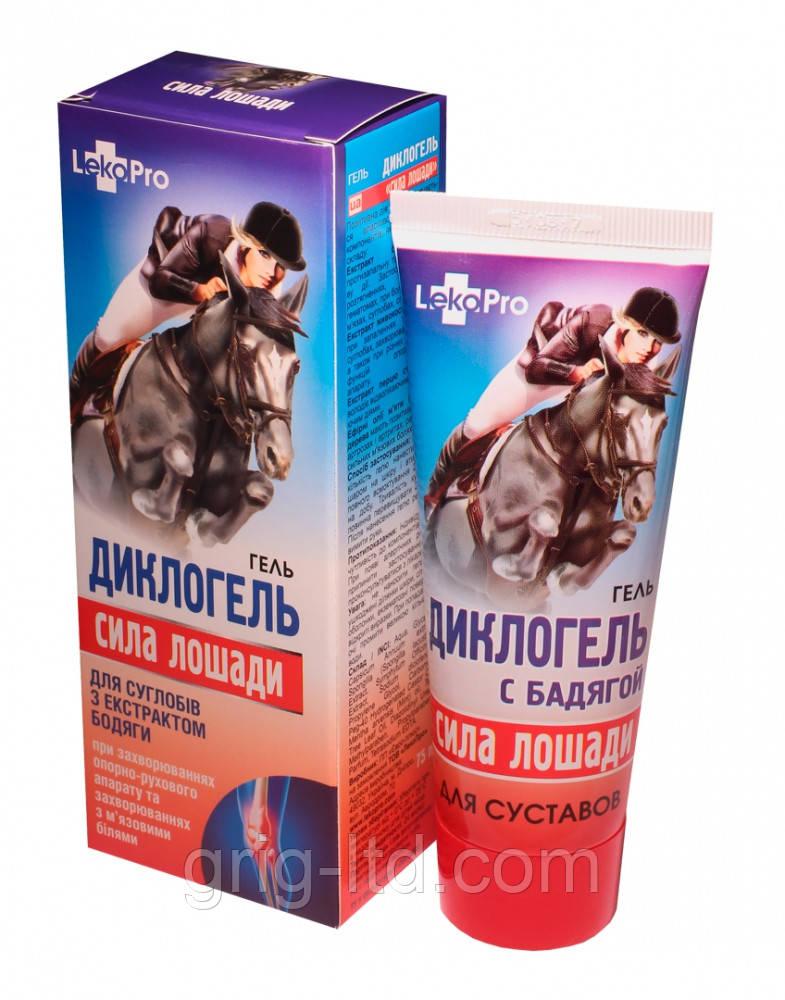 Гель Диклогель «Сила лошади»