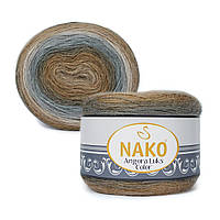 Пряжа Nako Angora Luks Color 81907 (Нако Ангора Люкс Колор)