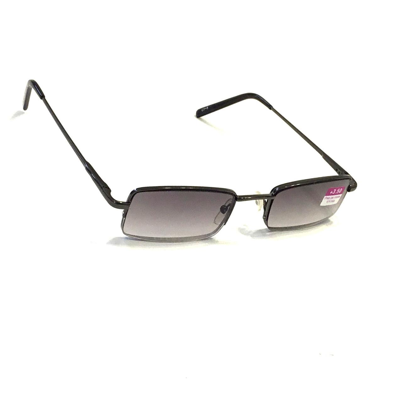 Полуоправные окуляри з тонованою лінзою
