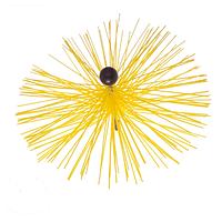 Универсальная щетка Hansa для чистки дымохода от 50мм до 400мм