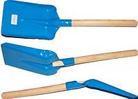 Лопатка с деревянной ручкой маленькая