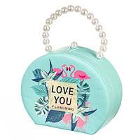 """Шкатулка в форме сумки для украшений  """" Любовь  """""""