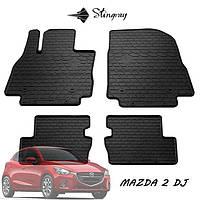 Автомобильные коврики для Mazda 2 (DJ) 2014- Stingray