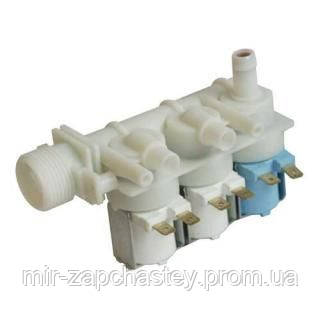 Клапан для стиральной машины, 080664 2Вбок 1 вверх ( ориг 080664) Ariston - Мир запчастей в Кривом Роге