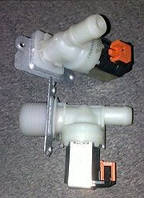 Клапан для стиральной машины. 1/180 WH . трубка 14мм . Whirpool .