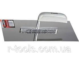 Гладилка из нержавеющей стали 600 х 130 мм деревянная ручка MTX 867359