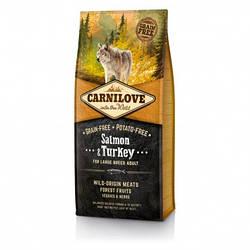 Корм Carnilove Adult Large Breed Salmon & Turkey для великих порід з лососем та індичкою 12