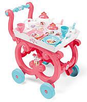 Сервировочный столик-тележка на колесиках с посудой Дисней Принцесса Disney Princess Smoby 310572