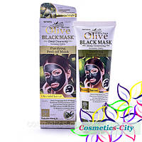 Черная маска для лица Olive Black Mask  WKL466, фото 1